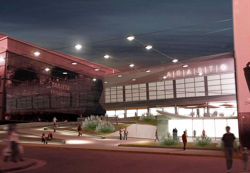 Nuevos Accesos Abasto Shopping Busnelli Arquitectura